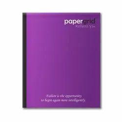 Perfect Bound White Exercise Notebooks, 160