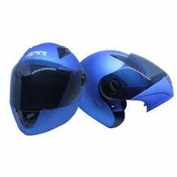 Formulate Helmets ZXR Blue Painted Flip Up Helmet, Size: Large