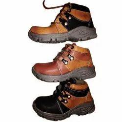 Party Wear Lace Up Kids Rexine Fashion Shoes, Size: 2-5