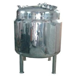 SS JACKETED TANK OR VESSEL