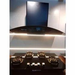 Primus Plus Energy Bk N 90 Baffle Faber Kitchen Chimney, 90 Cm