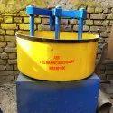 Round Pan Mixer, Capacity: 1 Bag Capacity
