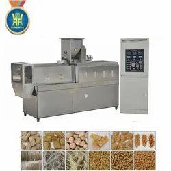 200 Kg/Hr Soya Nugget Machine