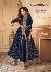 Aashirwad Gulkand Anokhi Designer Party Wear Salwar Suit Catalog