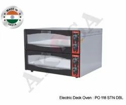 Akasa Indian Electric Stone Pizza Double Deck Oven