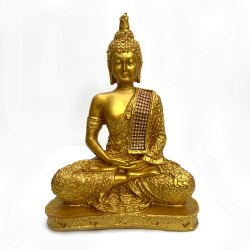 Fatfatiya Meditating Golden Buddha Statue