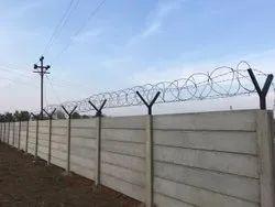 Cement Readymade Boundary Wall