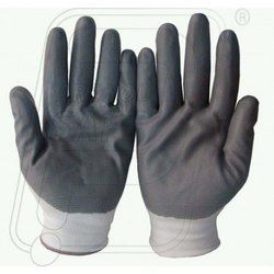 Nitrile Coted On Nylon Hand Gloves
