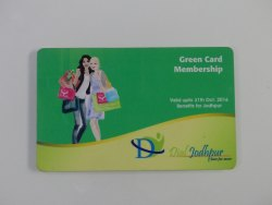 Plastic Loyalty Card