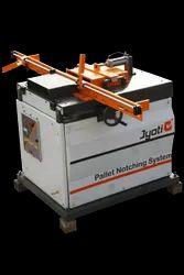 Wooden Pallet Notcher Machine