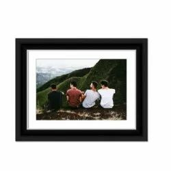 Moulding Classic Black Photo Frame, Size: 10x12 Inch
