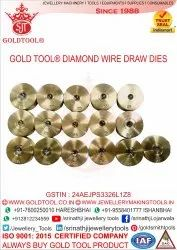 Gold Tool Jewellery Diamond Wire Drawing Dies