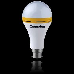 Crompton Backup LED Lamp, CDL B22 Rechargeable 4hrs Backup (Cool Day Light, 9W)