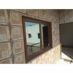 Aluminium Sliding Window, For Home