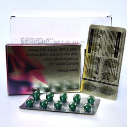 Calcitriol Methylcobalamin Folic Acid Boron Carbonate Soft Gelatin Capsules