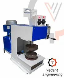 Vedant Engineering Ms Paper Plate Cutting Machine, 220 V, Production Capacity: 1800 Pair Per Day