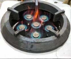 Cast Iron SS Biryani Range, For Gas Stove