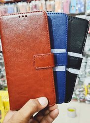 Artificial Leather Asus Mobile Flip Cover