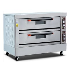 Electric Pizza Oven 2 Deck 4 Tray