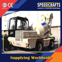Speedcrafts Diesel Engine Self Loading Concrete Mixer