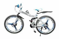 White Bmw X6 Foldable Cycle