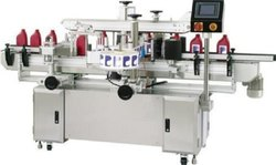 Automatic Lubrication Oil Bottle Sticker Labeling Machine