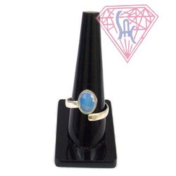 Opal Gemstone Silver Ring with Silver Plated