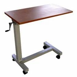 SCREW OPRATED OVER BED TABLE