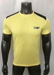 Mens Round Neck T Shirt Dri- Fit Tee Shirts, Running Tee Shirts