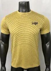 Mens Printed Sports T Shirt