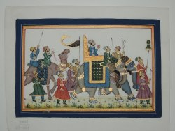Rajasthani Sawari Art Painting
