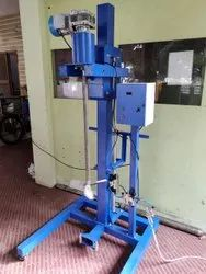 Pneumatic Lifting Electrical Agitator