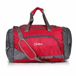 Optima Polyester Travel Duffle Bag 31 Ltrs (Red)