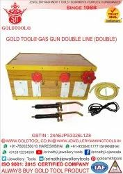 Gold Tool Gas Gun Double Line (Double) With Brass Nozzle