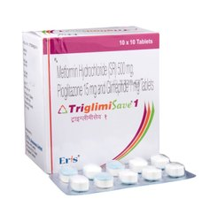 Triglimisave SR Tablet