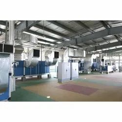 Stainless Steel 3 Star Pharma Industry HVAC System, For Industrial Use, Capacity: 200 Tr
