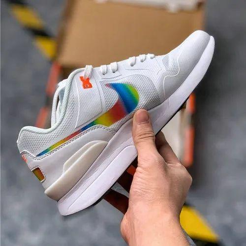 Nike Air Pegasus 89 Retro Rainbow Sports/ Gym Running Shoe For Mens