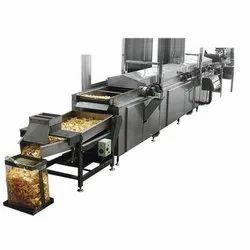 Semi-Automatic Potato Chips Line