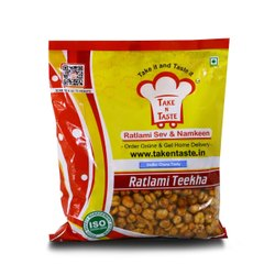 Ratlami Teekha Dollar Chana Tasty Namkeen, Packaging Size: 250 Gm