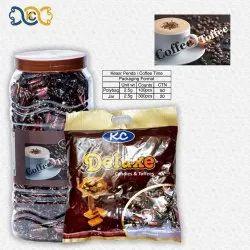 KC Brown COFFEE TOFFEE, Packaging Type: Plastic Jar, Packaging Size: 300 Pcs Jar 100 Pcs Pkt
