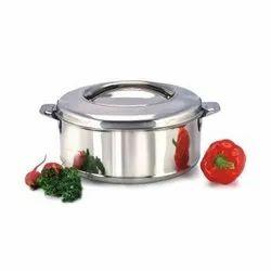 Steam Insulated SS Casserole Hot Pot