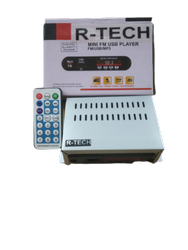 12v Dc 2.1 R- Tech Car Fm Usb Player