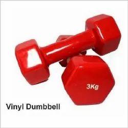 Fixed Weight Cast Iron Vinyl Dumbbell, Weight: 1 - 5 kg