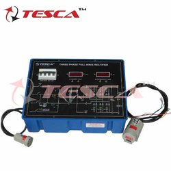 Three Phase Full Wave Rectifier with Power Supply