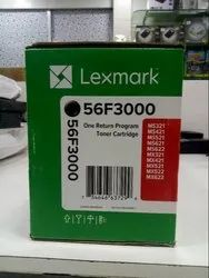 Black Lexmark 56F3000 Toner Cartridge