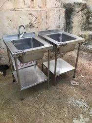 Satkar Silver Stainless Steel Sink