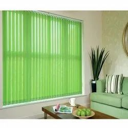 Green Vertical Roller Blind