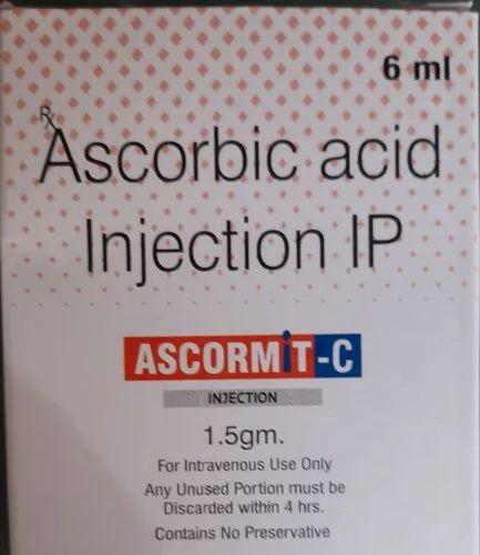 Ascormit-C inj Ascorbic acid inj or Vitamin C injection