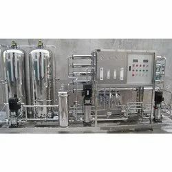 Stainless Steel Mineral Water Plant