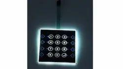 Electroluminiscent Membrane Keypad